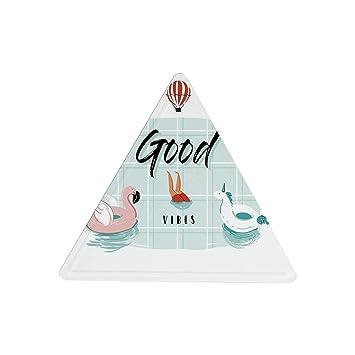 Amazon.com: Hitecera - Cartel de hojalata con diseño de ...