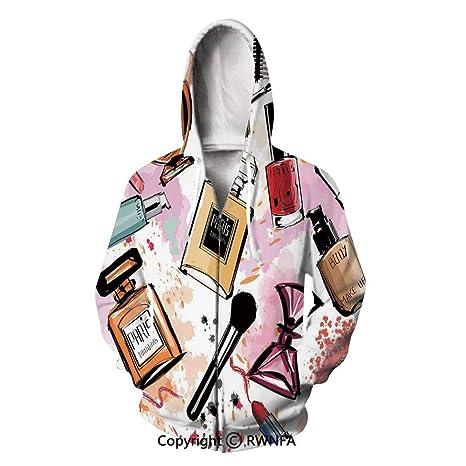Amazon.com: Unisex 3D Printed Hoodies Girls Pattern Perfume ...