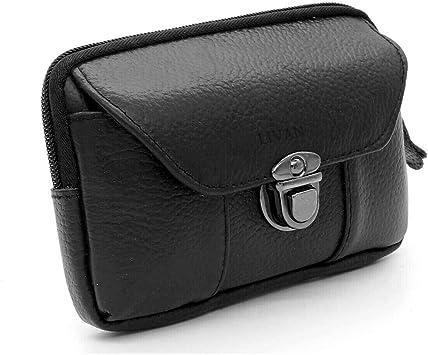 LIVAN® L005 - Bolso pequeño con múltiples Bolsillos, para Monedero ...