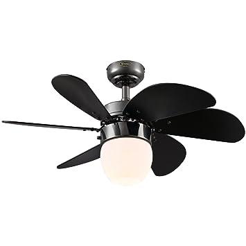 Westinghouse 7226100 Turbo Swirl CFL Single Light 30 Inch Six Blade Indoor  Ceiling
