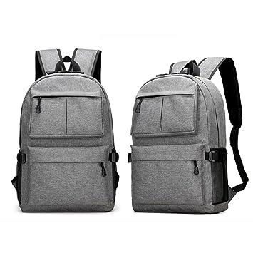 mochilas hombre deportivas para Portátil, Mochila impermeable Backpack Daypack Multiusos con puerto de carga USB