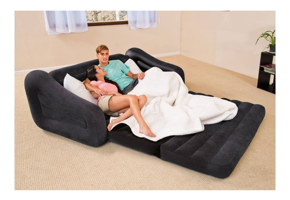 NEW Couch Bed Sofa Sectional Sleeper Futon Living Room Furniture Loveseat Guest by Unknown