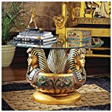Ancient Egyptian Royal Classics King Tut Tutankhamen Sculpture Statue Center ...