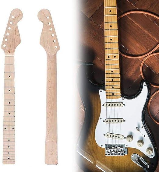 Rubyu Mástil de Guitarra, Mástil de Arce de Repuesto Mástil de ...