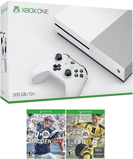 XBOX UNO Sports Bundle (3 artículos): Microsoft Xbox One S 500 GB ...