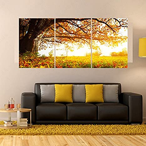 Buy Generic 3 Piece Living Room Wall Paintings Decor Art Oil ...
