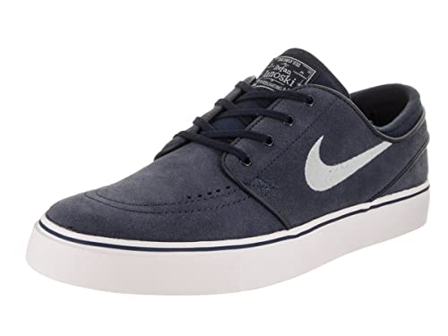best loved 2ec2c 5e2ab Nike Men s Zoom Stefan Janoski Obsidian Wolf Grey Black White Skate Shoe 13  Men US  Buy Online at Low Prices in India - Amazon.in
