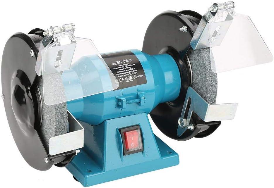 250W Metal Electric Bench Grinder Polisher Grinding Wheels Machine 2956r//min UK