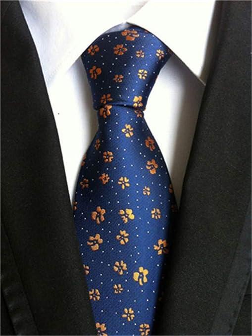 VGYUAS Corbata Corbatas para Hombre Corbata De Boda 8 Cm Corbatas ...