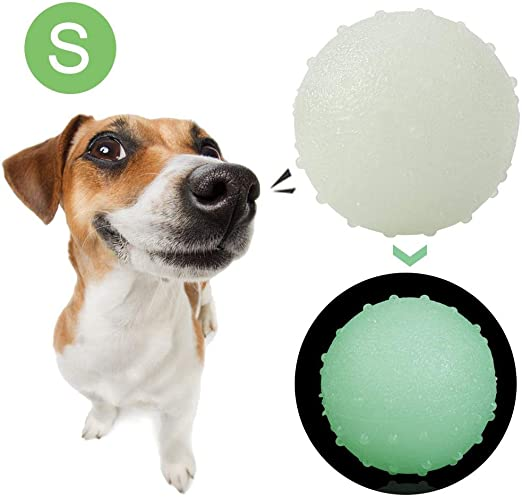 Volwco Bola interactiva para Perro, Resistente a Masticar ...