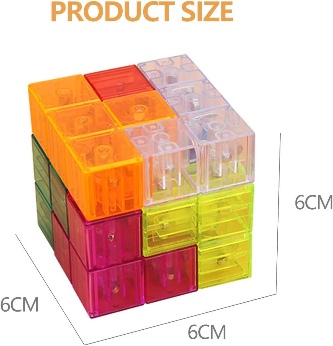 CaLeQi Magn/étique Blocs de Construction Magn/étique Cube Magique Cube Puzzle /Éducation Building Block Jouets pour Les Enfants Enfants Cadeau
