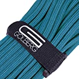 Golberg 550 Type True Kevlar Paracord - Toughest Military Grade Paracord - Better Than Paramax - 1250LB Test Rating - 7 Strand Core - Made in USA - (100 Feet, Blue)