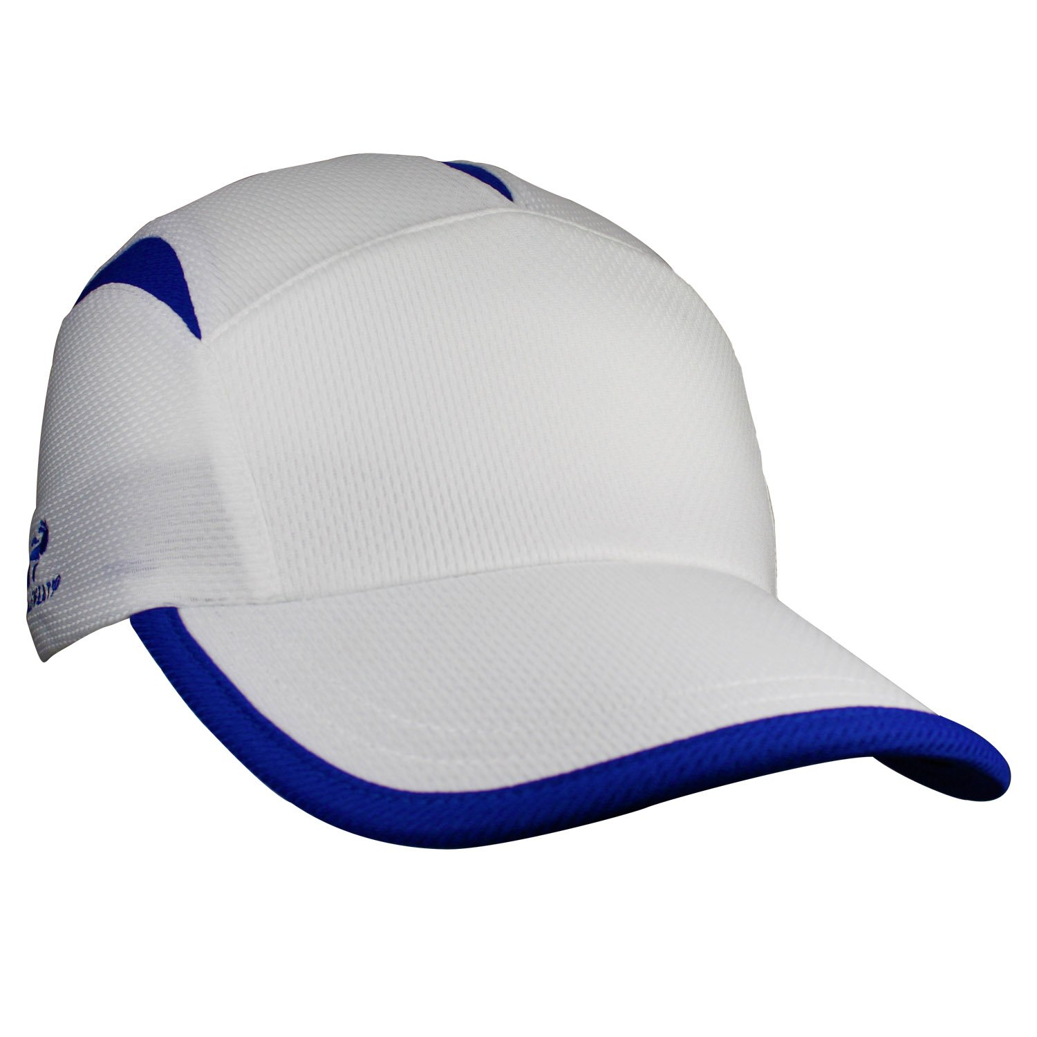 Headsweats Go Hat, White/Royal (One Size)