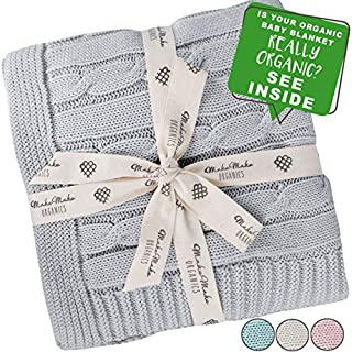 """MakeMake Organics - GOTS Certified Organic Baby Blanket 