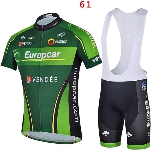 2020 U5Y9G NEU Herren Rennrad Fahrrad Trikot L?tzchen Shorts Sets Hemd Klammer