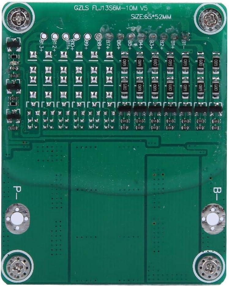 7S 24V Placa de protección de iones de litio, 25A 500W Placa de protección de batería de litio de iones de litio BMS PCB con equilibrio