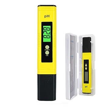Digital 0.01 PH Wert Messgerät Wasser PH Tester Meter Prüfer für Aquarium Pool