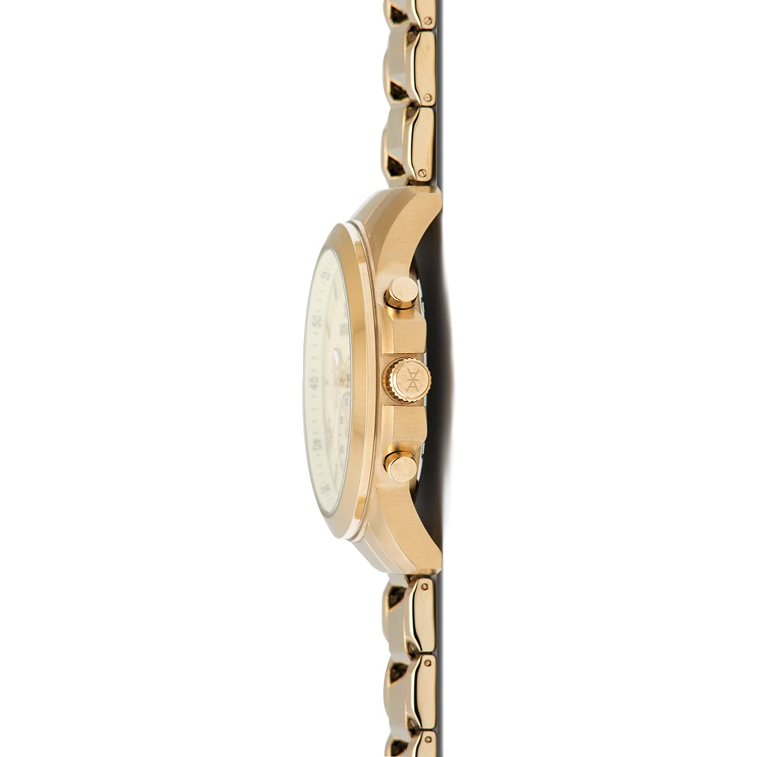 Amazon.com: AIMANT Mens Kent Gold with Gold Stainless Steel Bracelet Watch GKE-100SG-GG: Watches