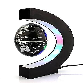 Magnetische Zwevende Wereldbol met LED Verlichting: Amazon.de: Küche ...