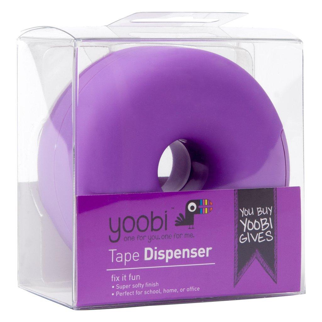 Yoobi Fix It Fun Donut Tape Dispenser - Purple
