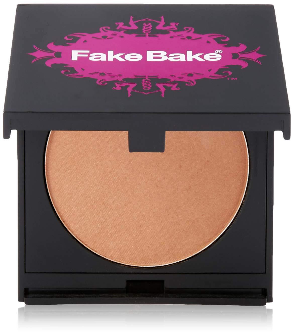 Blush Bronzer by Fake Bake | Cream Based Bronzing Compact Provides Long-Lasting Pigmentation Results | 8 grams