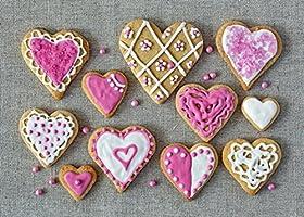 Malilove 3D Wallpaper,Cookies Corazón Alimentos Wallpapers ...