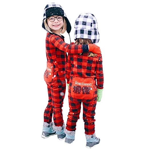 823bf52074147 Teresamoon Toddler Christmas Family Lattice Xmas Kid Adult Sleepwear  Nightwear Romper