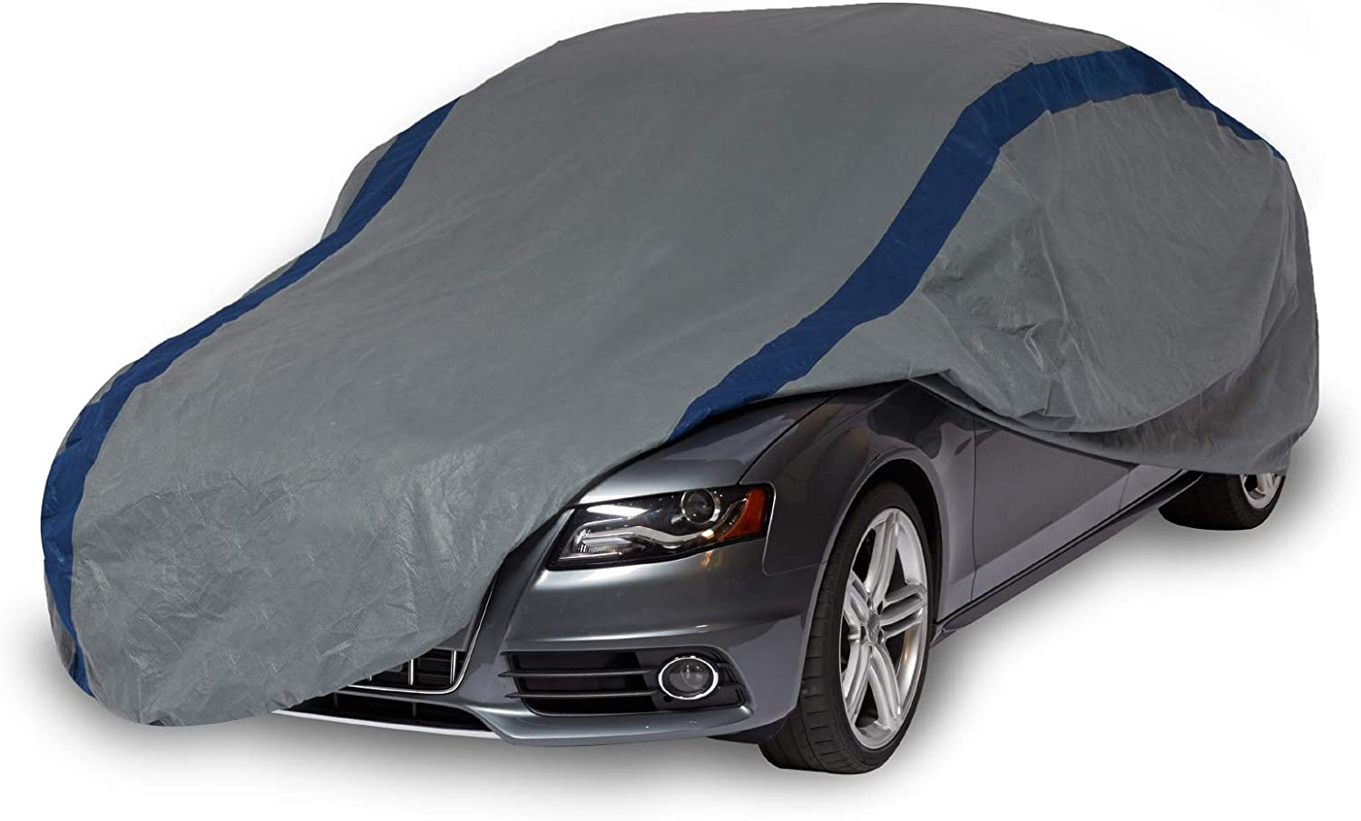Duck Covers Weather Defender Car Cover for Sedans up to 16' 8""