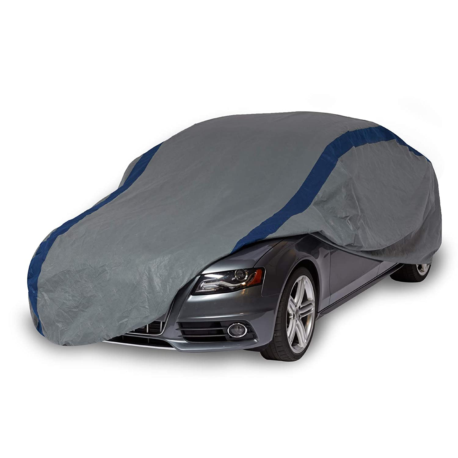 Duck Covers Weather Defender Outdoor Car Cover, Limited 4 Year Warranty,  Fits Sedans up to 16 ft. 8 in. A3C200