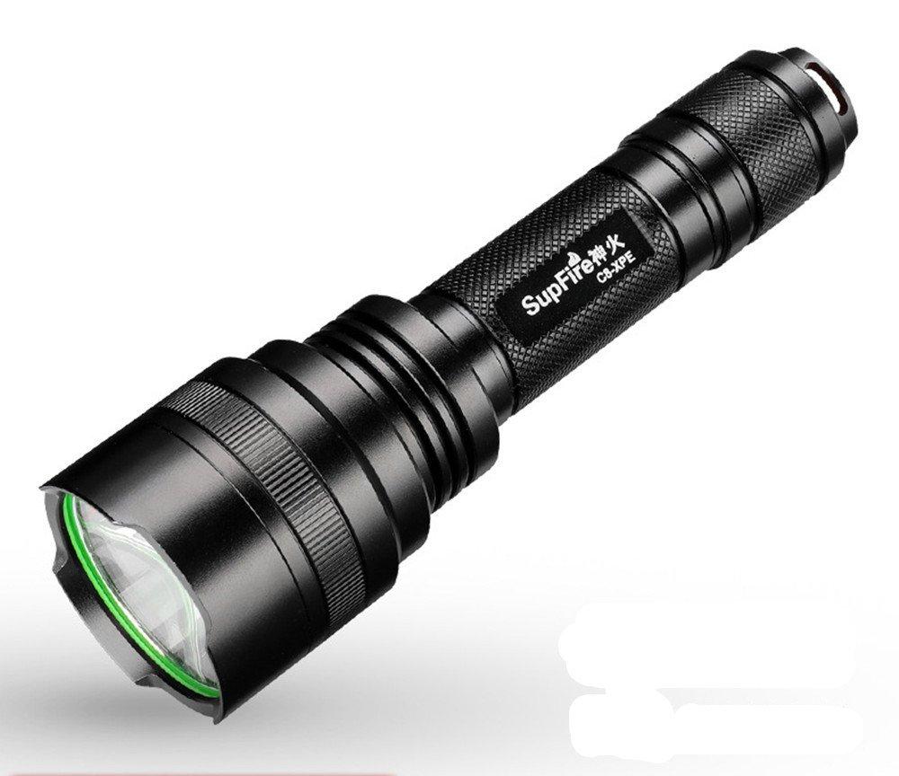 GLJJQMY Torcia A LED Torcia con Cavo di Ricarica USB per Gli Sport all'Aria Aperta Torcia elettrica