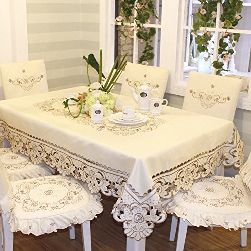 Mh-Rita Cloth Cloth Embroidered Table Cloth Tablecloth Table Runner Simple Chair Cushion The 130 5'9 - 9 Mh Art