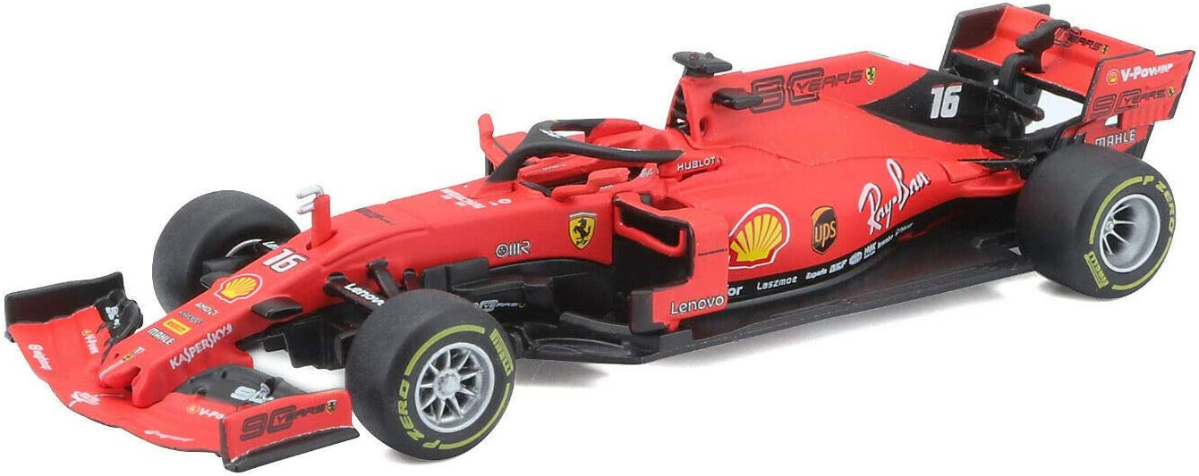 Model Car Sport 1:43 2019 Ferrari Formula 1 F1 SF90 #16 Charles Leclerc Model CAR Boxed