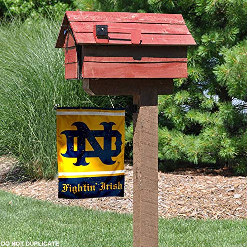 WinCraft Notre Dame Throwback Vintage Retro Garden Flag