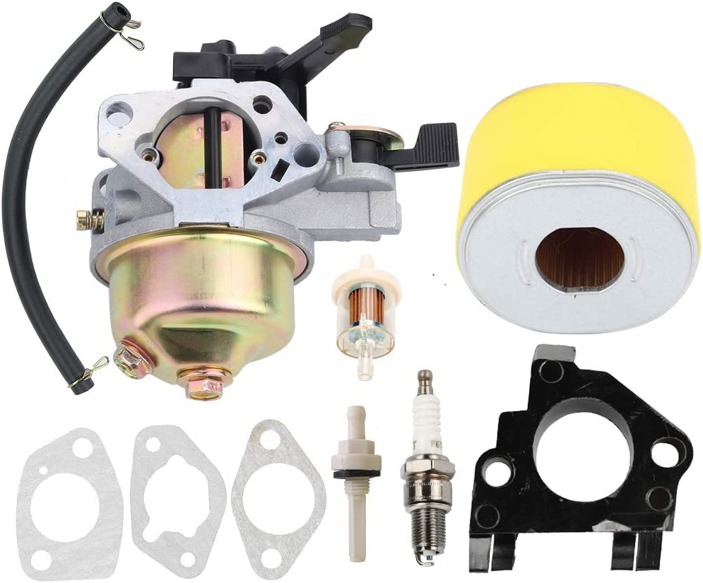 Hayskill GX390 Carburetor with 17210-ZE3-505 Air Filter Tune Up kit for Honda GX 390 GX340 13HP 11HP Engine Toro 22308 22330 Dingo TX 413 Compact Utility Loader Carb Replace 16100-ZF6-V01