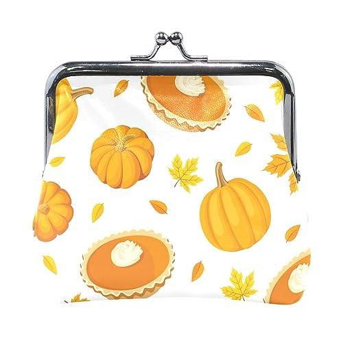 Amazon.com: Monedero de piel de calabaza para Halloween ...