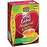 Brooke Bond Red Label Natural Care Tea Indian Flavored Black Tea - Enhance Immunity - 250gm/Pack