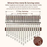 Kalimba 17 Keys Thumb Piano - Portable Finger Thumb