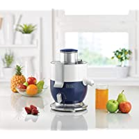 Black+Decker 1000W Compact Juicer Extractor, Blue/White - JE350-B5