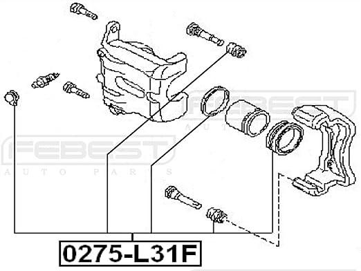 Cylinder Kit Febest 0275-L31F Oem 41120-8J025