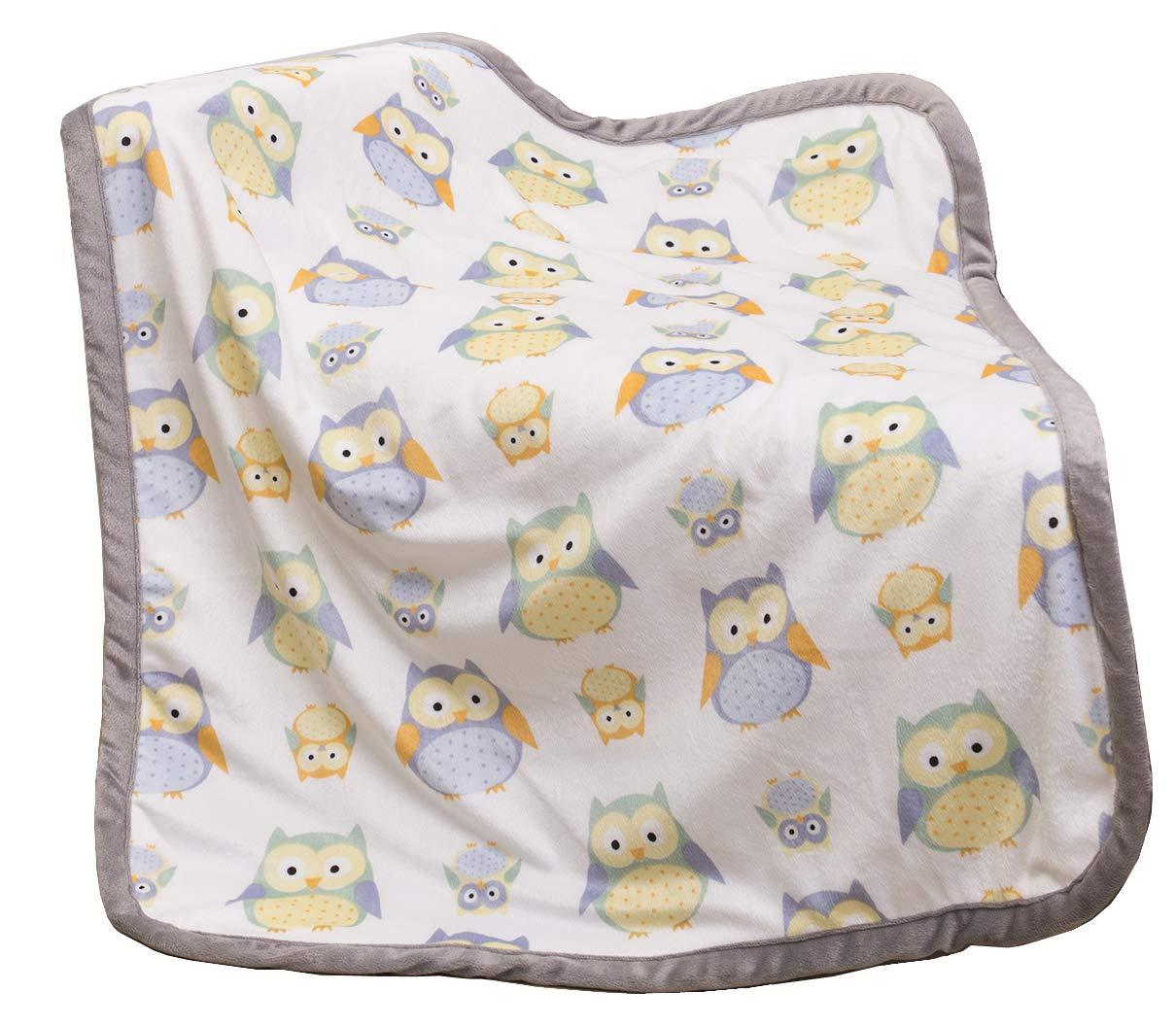 "Sunshine Baby Blanket Print Fleece Gift for Newborn Prince Princess 30"" x 40"" product image"