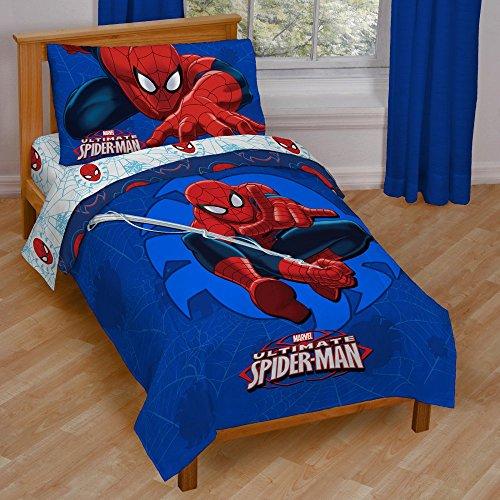 Marvel Spiderman Regulator Toddler Bed Set