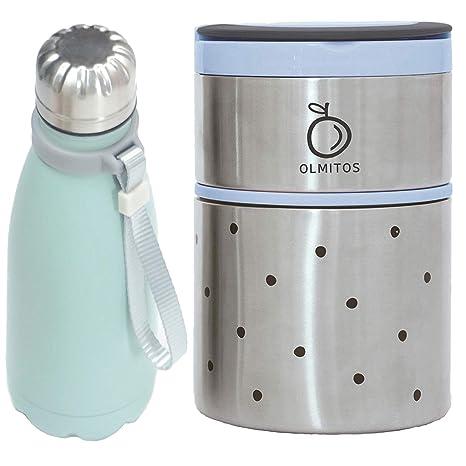 Pack Termos Azul : Termo de Solidos y Termo de Liquidos de ...