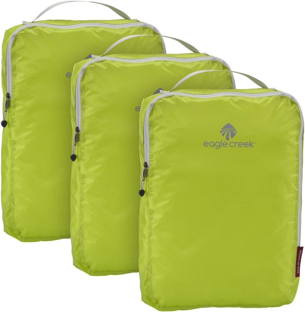 Eagle Creek Pack-It Specter Half Cube Packing Set Set of 3 Strobe Green
