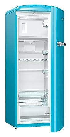 Captivating Gorenje ORB 153 BL Kühlschrank Mit Gefrierfach / A+++ / Höhe 154 Cm /  Kühlen: Design Ideas