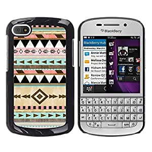 LOVE FOR BlackBerry Q10 Native American Winter Christmas Pattern Personalized Design Custom DIY Case Cover