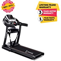 Cockatoo CTM-04 Home Use 2 HP Motorised Multi-Function Treadmill(Free Installation Assistance)