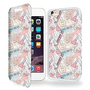 Makeup Collection Pattern Funda de Cuero para Iphone 6s Flip Case Cover (Estuche) - FUNDA SOPORTE / PU Cuero - Accesorios Case Industry Smart Magnet