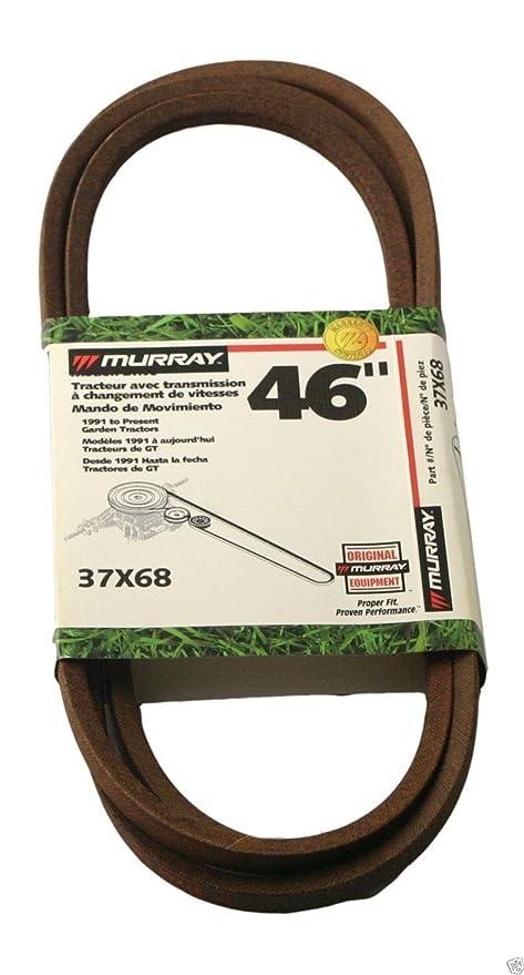 Genuine Murray 037 X 68ma cortacésped Motion Drive cinturón ...