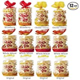 Kim's Magic Pop Combo Pack A 12-Packs: Freshly Popped Rice Cakes, Healthy Grain Snack, 0 Weight Watchers Point