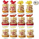 Cheap Kim's Magic Pop Combo Pack A 12-Packs: Freshly Popped Rice Cakes, Healthy Grain Snack, 0 Weight Watchers Point